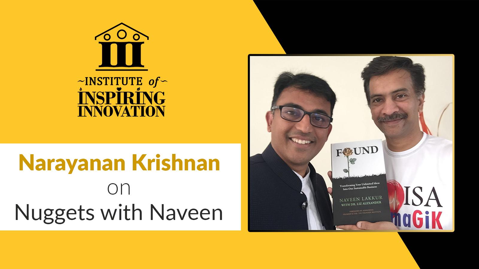 Narayanan Krishnan On Nuggets with Naveen