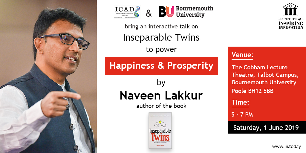 happiness and prosperity as inseparable twins