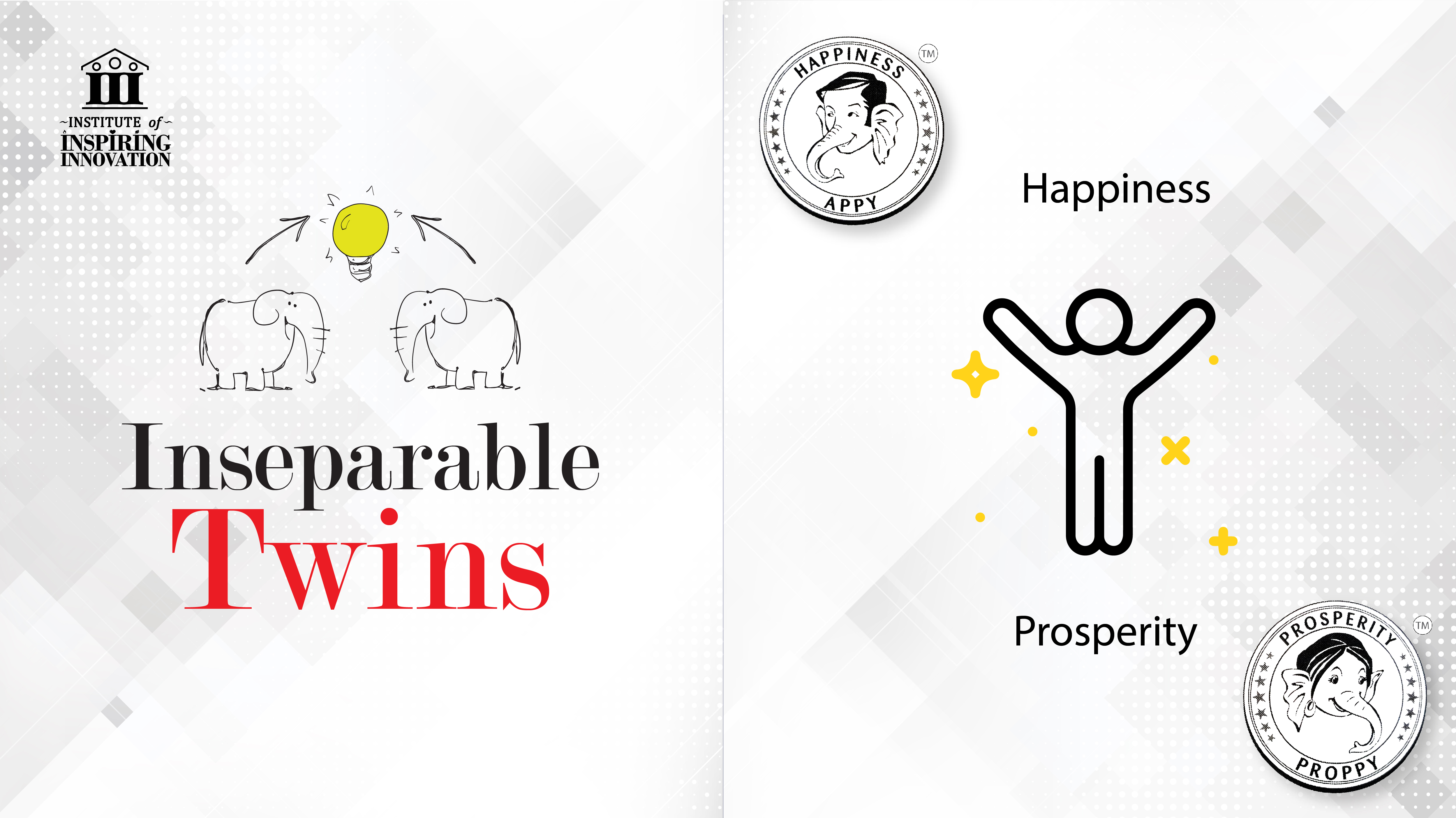 Happiness & Prosperity as Inseparable Twins by Naveen Lakkur